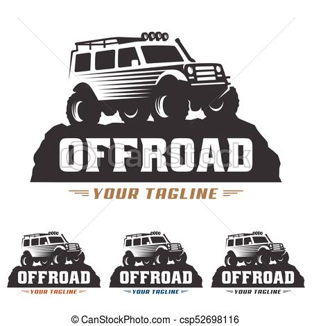 450x470 Template Of Off Road Car Logo, Offroad Logo, Suv Car Logo Template