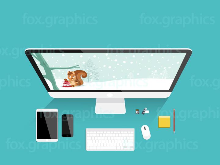 720x540 Modern Office Background