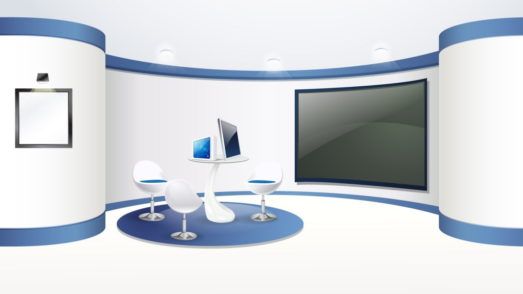 1024x576 Office Background Vector (1920x1200)