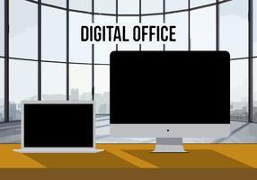 286x200 Office Free Vector Art