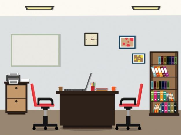 626x469 Office Background Design Vector Premium Download