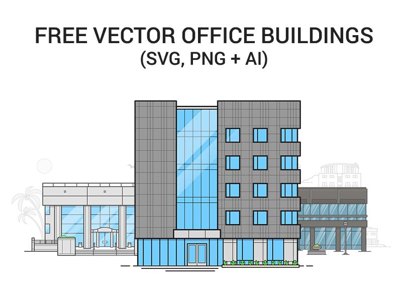 800x600 Freebie Vector Office Buildings Sd Web Design