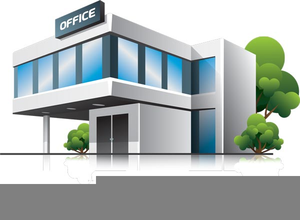 300x220 Office Building Clipart Black And White Free Images
