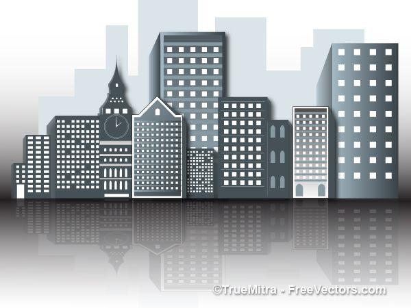 600x450 Office Buildings Vectors Free Vectors Office