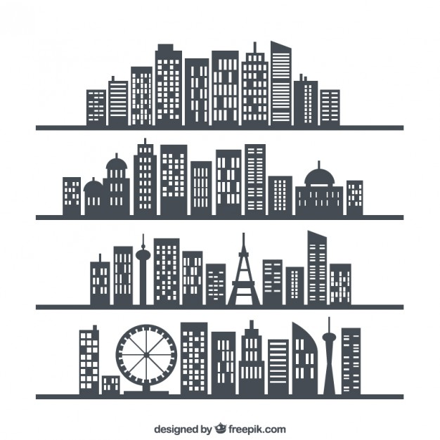 626x626 Building Silhouette Vectors, Photos And Psd Files Free Download