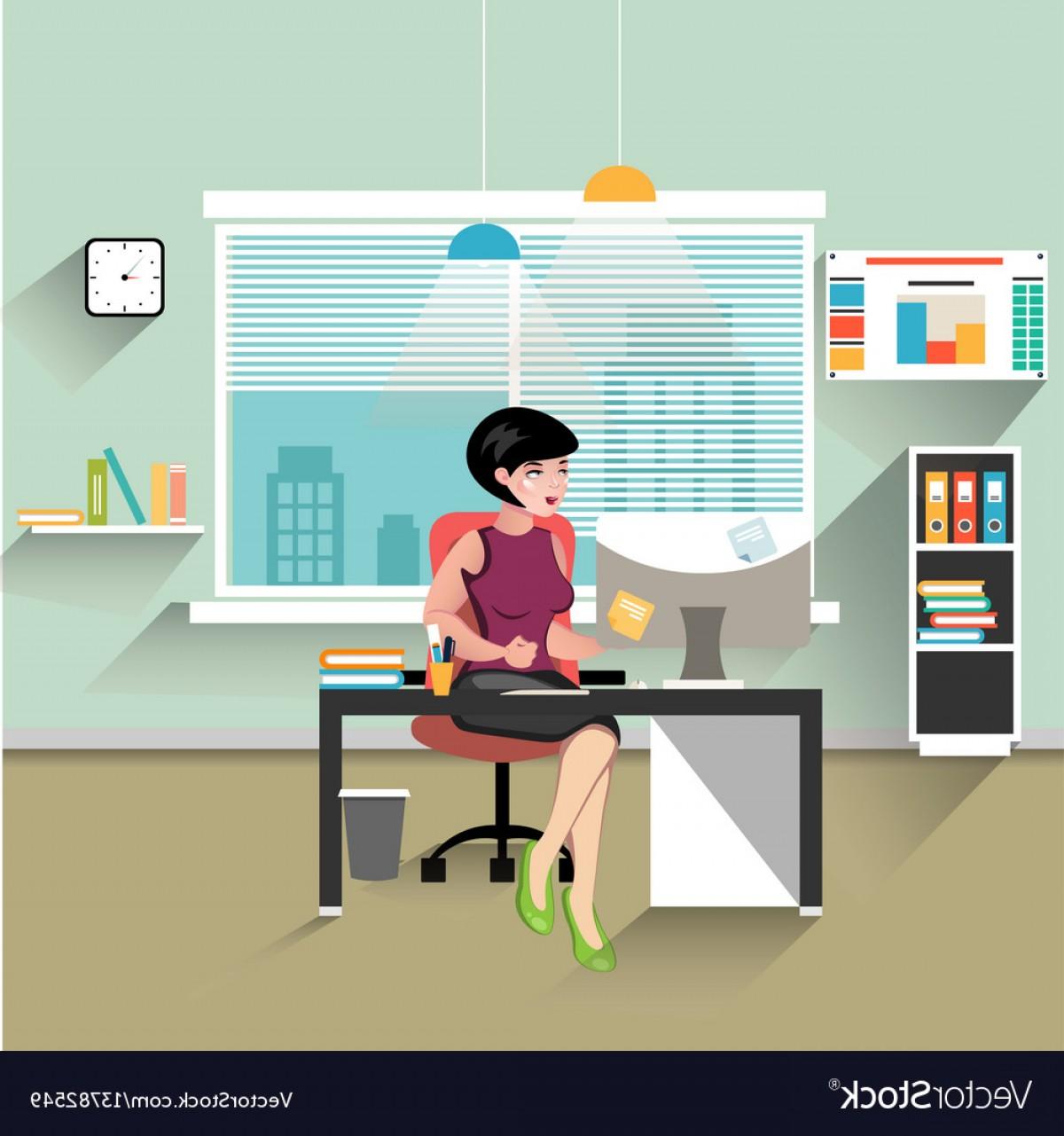 1200x1281 Vector Office Table Shopatcloth