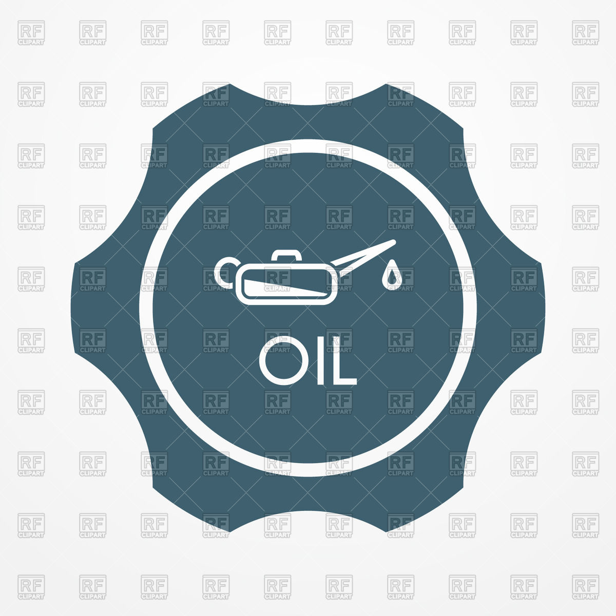 1200x1200 Oil Cap With Oil Can Icon Free Vector Image Vector Artwork Of