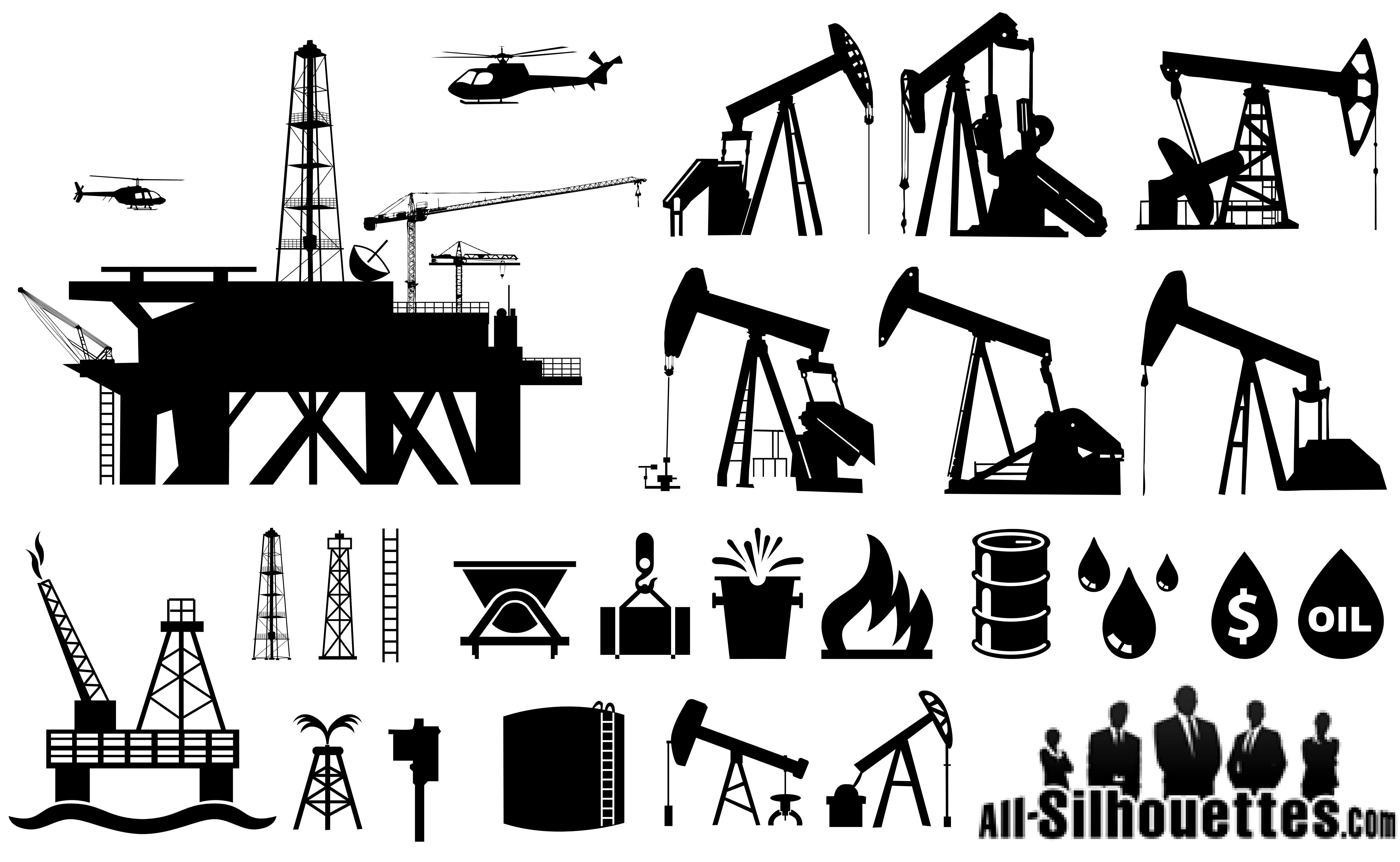 4792x2950 Oil Rig Clipart Icon Free Collection Download And Share Oil Rig