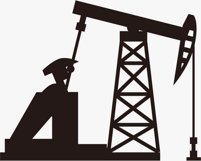 650x520 Oil Derrick Silhouette, Petrochemical Industry, Oil Extraction
