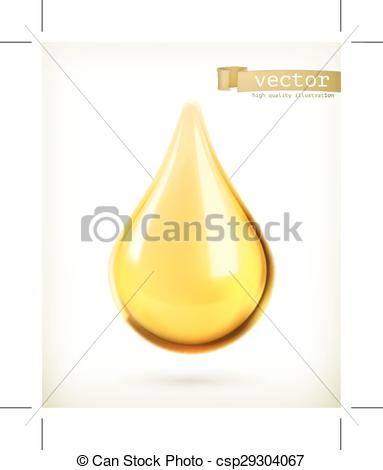383x470 Oil Drop Icon. Oil Drop, Vector Icon, Isolated On White Background .