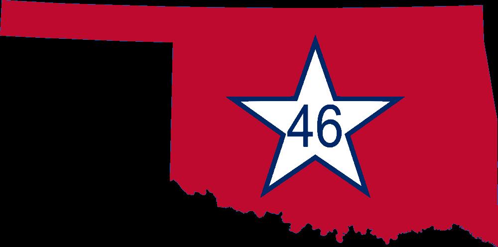 1000x496 15 Oklahoma Vector Map For Free Download On Mbtskoudsalg