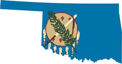 400x209 26 Fantastic Oklahoma Flag Map