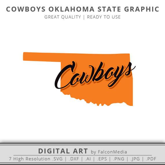 570x570 Oklahoma Svg Cowboys Svg Oklahoma State Outline Svg Etsy
