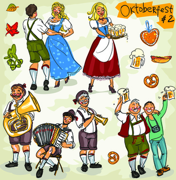 361x368 Oktoberfest Free Vector Download (66 Free Vector) For Commercial