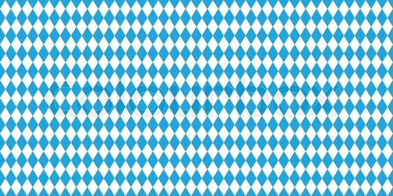 800x400 Seamless Oktoberfest Blue Background. Vector Illustration