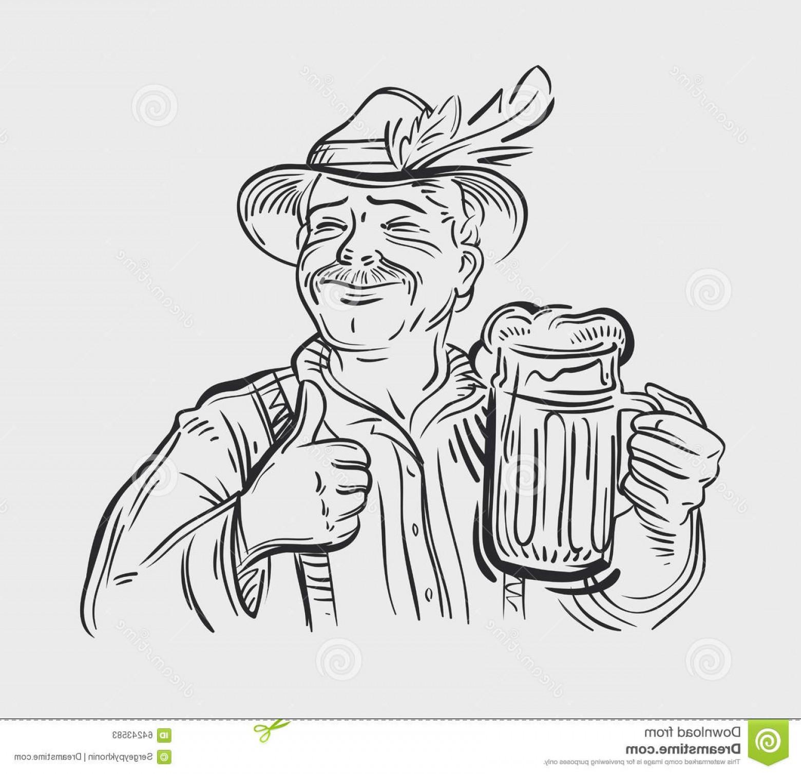 1560x1507 Stock Illustration Oktoberfest Vector Logo Design Template Beer