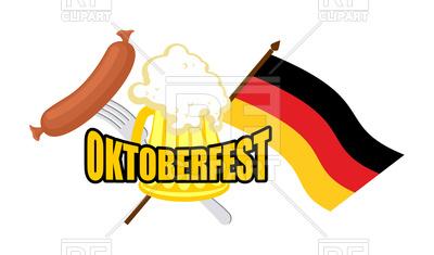 400x235 Beer Mug And Flag Of Germany