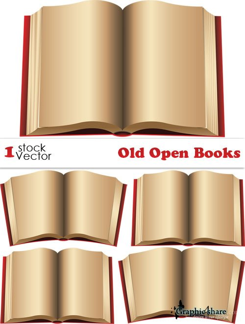 500x661 Old Open Books Vector Clipart Panda