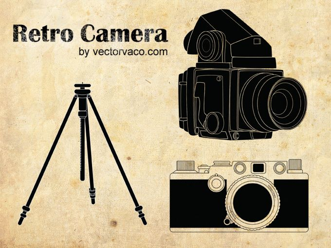 Grunge Camera Vector : Old camera vector at getdrawings.com free for personal use old