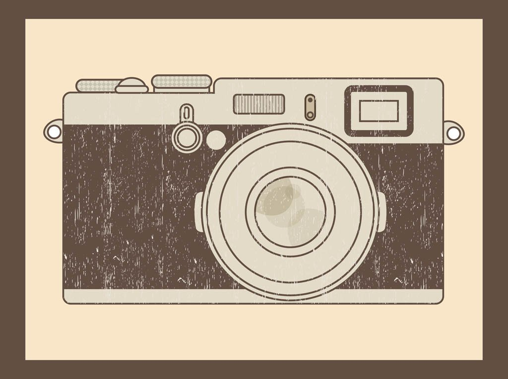 1024x765 Vector Vintage Camera Vector Art Amp Graphics
