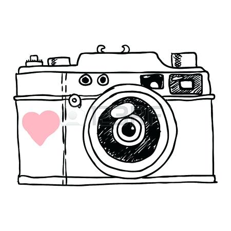 450x450 Vintage Camera Clip Art Free Camera Photograph Picture Flat Design