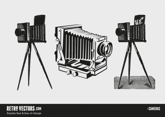 626x443 Vintage Cameras Vector Free Download