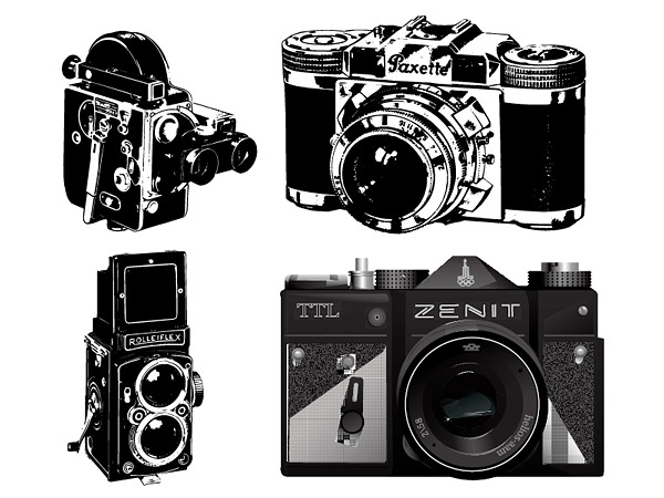 600x450 Camera Keyword Vector Machines Retro Nostalgia Old Classic Cameras