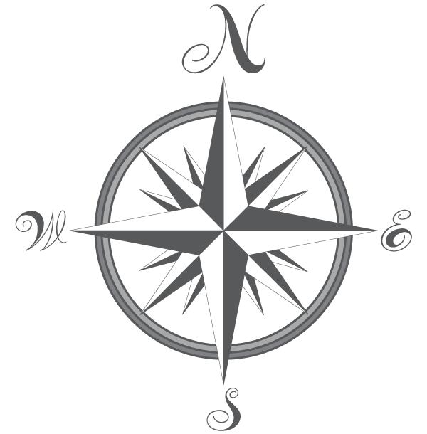600x610 Free Compass Vector Image Printsamppatternsamprepeats