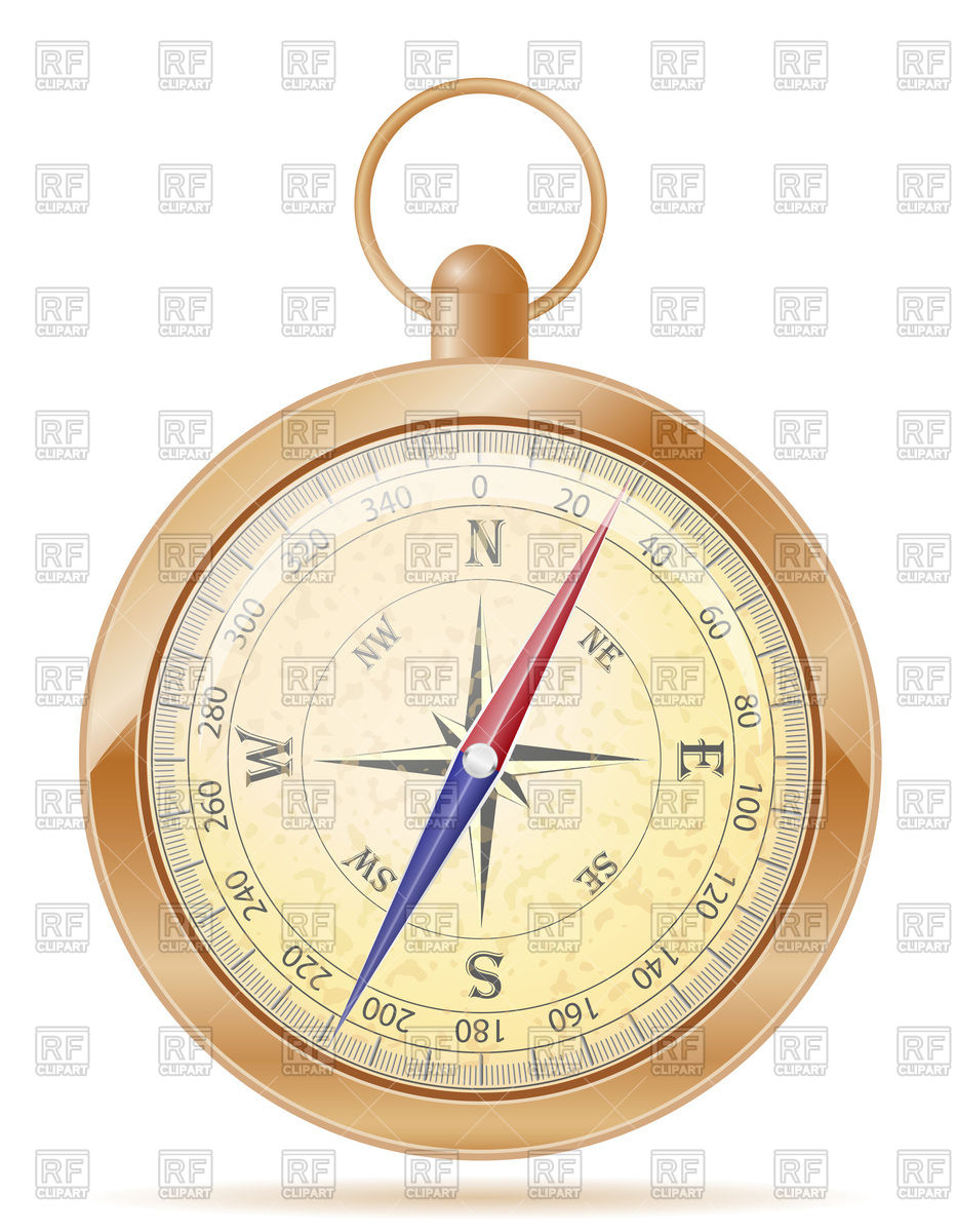 933x1200 Old Compass Icon Vector Image Vector Artwork Of Objects