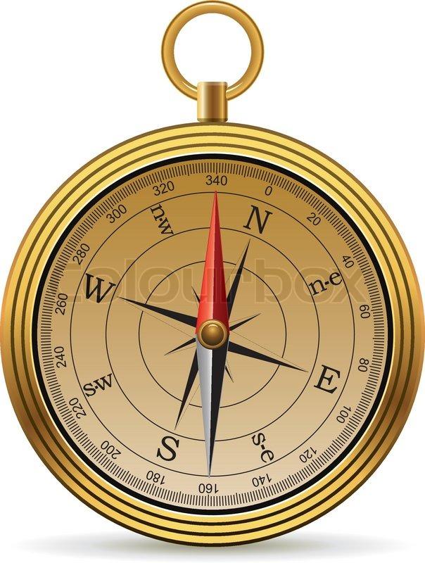 604x800 Vector Vintage Compass Stock Vector Colourbox