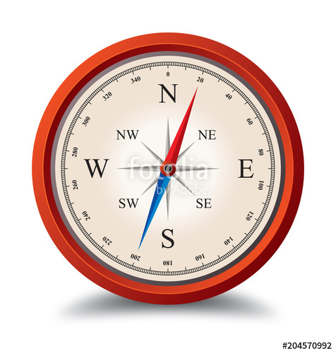 476x500 Old Compass Illustration Vector Stock Image And Royalty Free