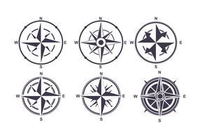 286x200 Compass Free Vector Art