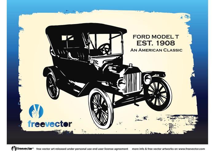 700x490 Vintage Ford Car