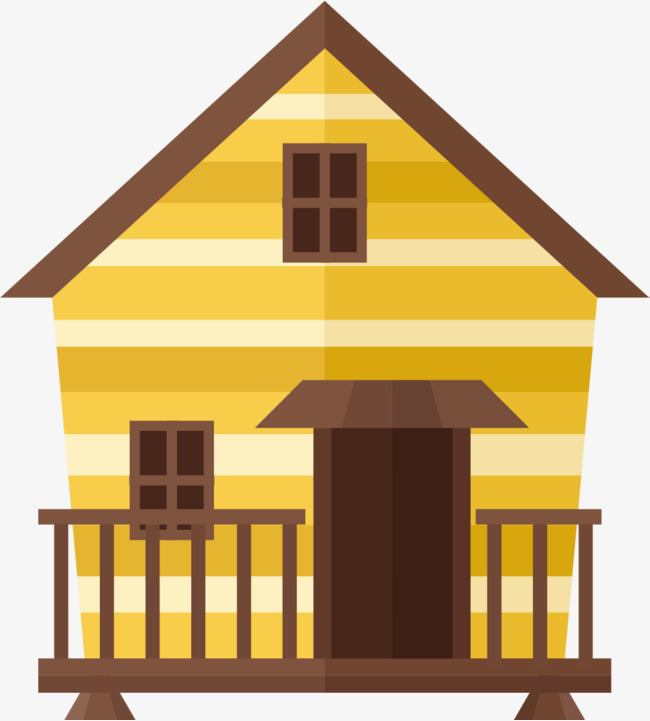 650x721 Paint An Old House, Paint Vector, House Vector, Residential House