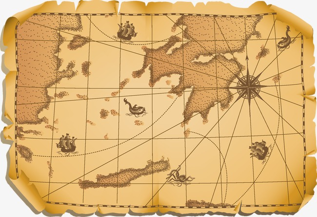 650x444 Old Map, Map Vector, Map Png And Vector For Free Download