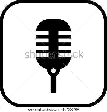450x470 Microphone Vector Icon Clipart Panda