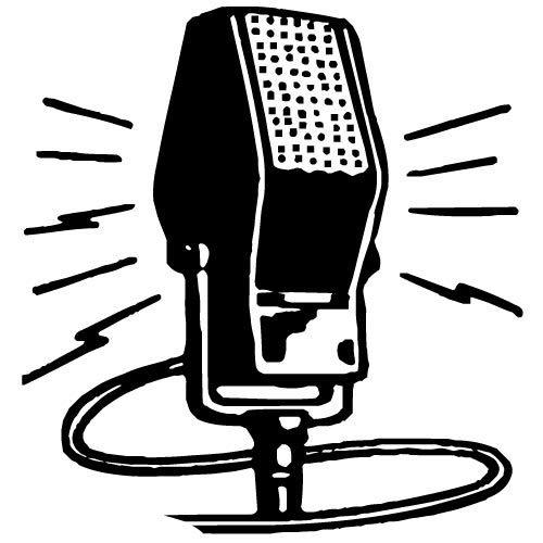 500x500 Vintage Microphone Vector Graphics Public Domain Vectors