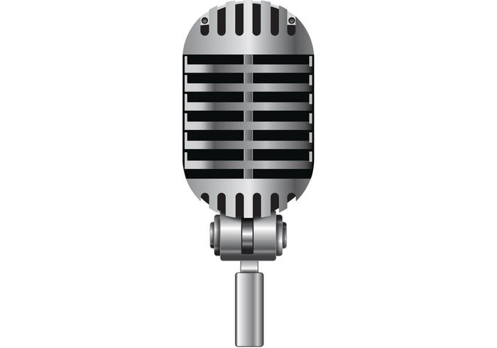 700x490 Free Microphone Vector