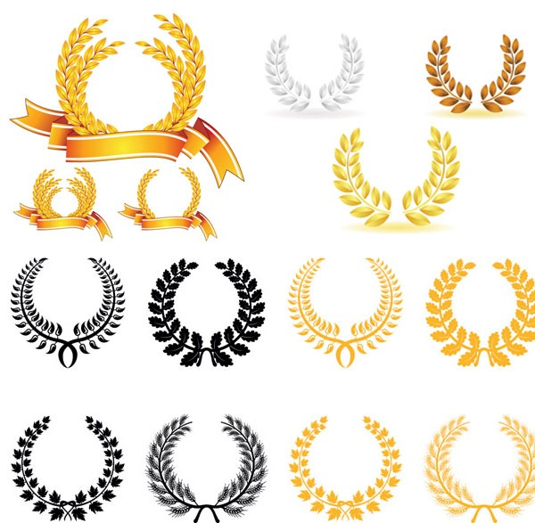 600x587 Vector Olive Branch Graphics Collection My Free Photoshop World