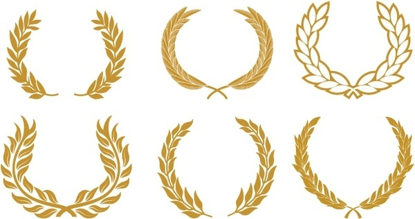 600x317 Gold Clipart Olive Branch