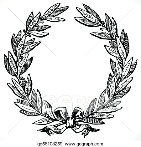 450x470 Olive Branch Wreath Vector Vector Olive Wreath Home Interior