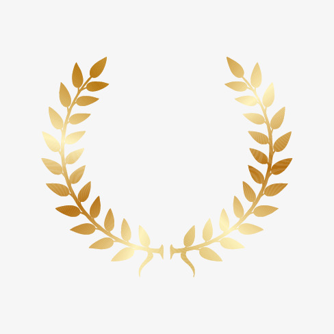 488x488 Olive Wreath, Olive Branch, Wreath, Gold Wreath Png And Vector For