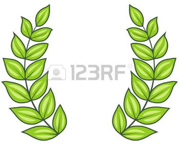 350x283 Laurel Wreath Laurel Wreath (Vector) Illustration Olive