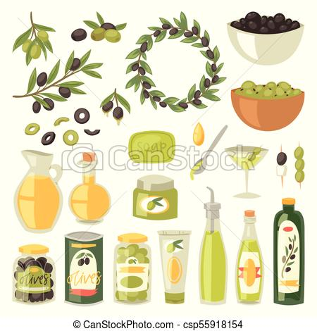 450x470 Olive Oil Vector Bottle With Virgin Olivaceous Ingredients For
