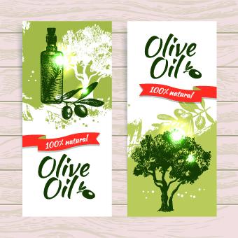340x340 Vintage Olive Oil Background Vector 05 Free Download