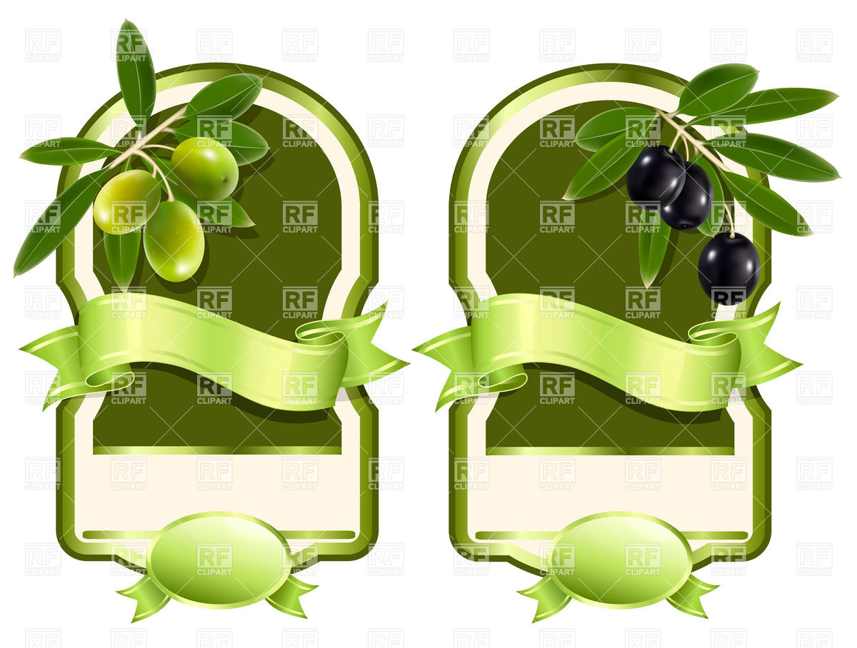 1200x908 Label For Olive Oil Vector Image Vector Artwork Of Food And