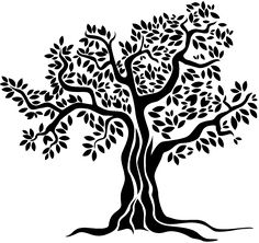 236x222 Olive Tree Vector Illustration In 2018 Stencils