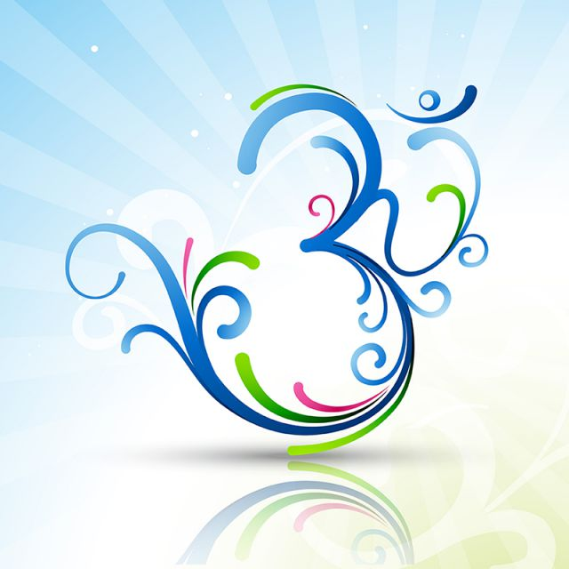 640x640 Beautiful Om Symbol, Artistic, Aum, Beautiful Png And Vector For