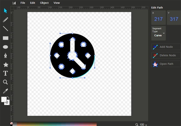 600x418 A Free Online Vector Editor Method Draw