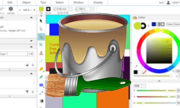 600x360 Free Browser Based Online Vector Graphics Creator, Editor With